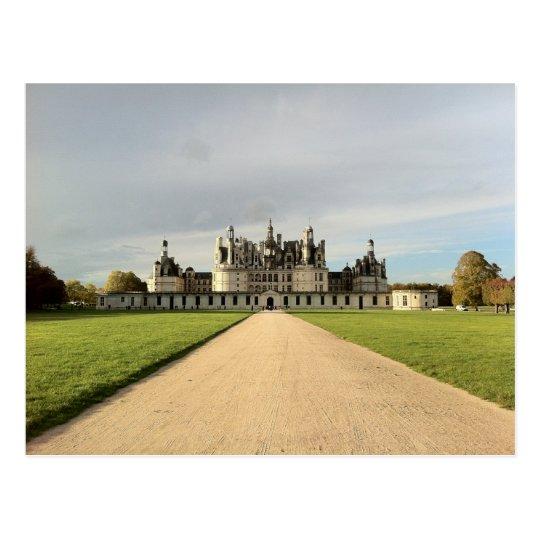 Castle of Chambord, France Postcard