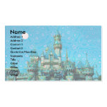 Castle of Dreams template Business Cards