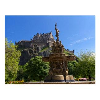 Castle of Edinburgh Postcard