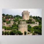 Castle of Europe in Turkey Posters