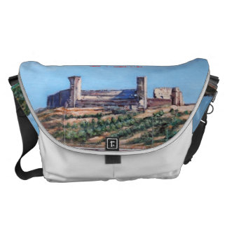Castle of Fuengirola (Malaga) Commuter Bags