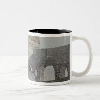 Castle of San Angelo, Rome Two-Tone Coffee Mug