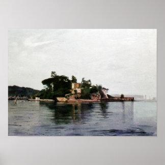 Castle of Santa Cruz (Oleiros. To Corunna) Poster