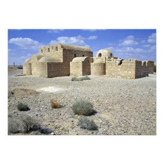 Castle of the Desert Quasr El Amra Jordan Desert Custom Invites
