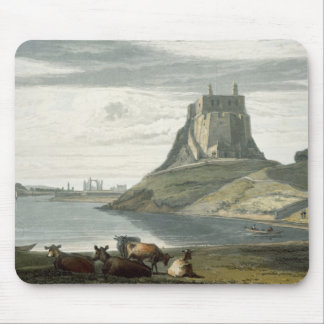 Castle on Holy Island, Northumberland, from 'A Voy Mouse Pad