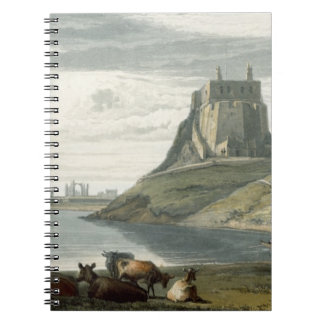 Castle on Holy Island, Northumberland, from 'A Voy Spiral Note Books