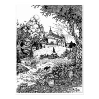 Castle On the Hill Postcard