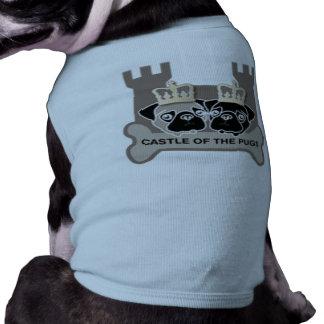 castle or the pugs dog moultdog moult (name own do sleeveless dog shirt
