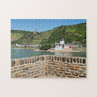 Castle Palatinat count stone with Kaub Jigsaw Puzzle