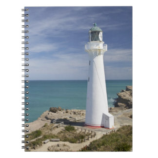 Castle Point Lighthouse, Castlepoint, Wairarapa, Spiral Notebook