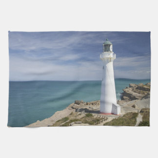 Castle Point Lighthouse, Castlepoint, Wairarapa, Tea Towel