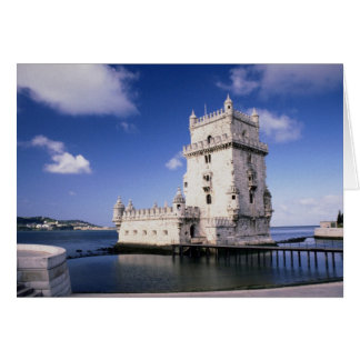 Castle, Portugal Greeting Card