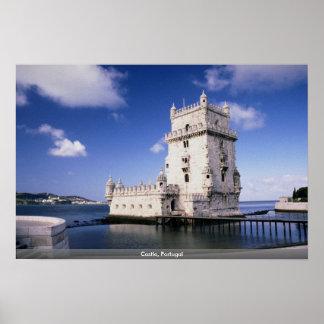 Castle, Portugal Print