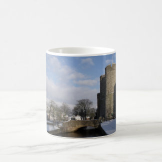 Castle River And Snow Photo Coffee Mugs