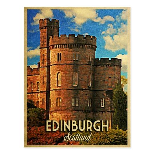 Castle Rock Edinburgh Postcards