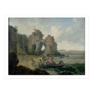 Castle Rock (Flatholm Island), Bristol Channel, 17 Postcard