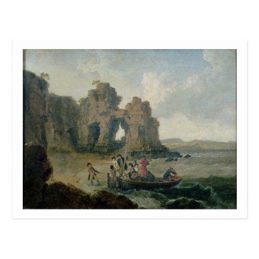 Castle Rock (Flatholm Island), Bristol Channel, 17 Post Cards