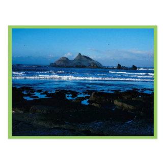Castle Rock in California Postcard