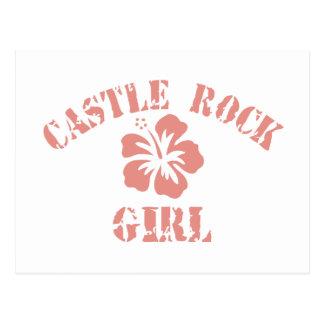 Castle Rock Pink Girl Post Card