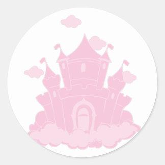 Castle Round Sticker