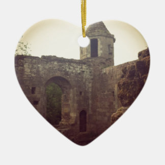 Castle Ruin Christmas Ornament