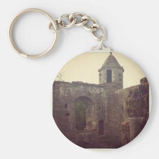 Castle Ruin Key Chain