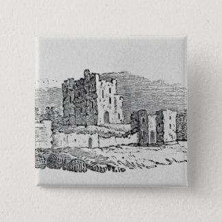 Castle Ruins 15 Cm Square Badge