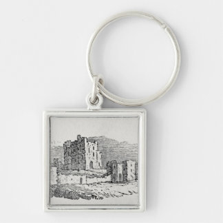 Castle Ruins Keychains