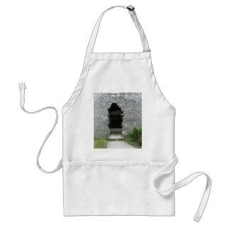 Castle ruins standard apron