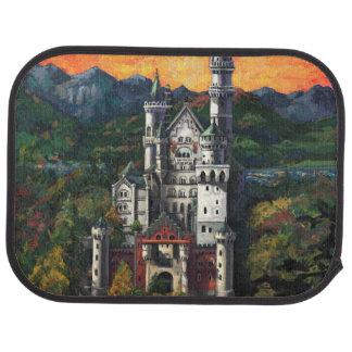 Castle Schloss Neuschwanstein Floor Mat