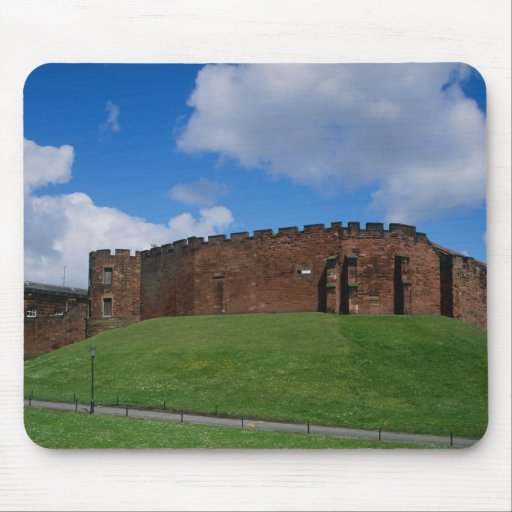 Castle showing half moon tower, Chester, Mousepads