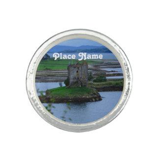 Castle Stalker in Scotland Photo Ring