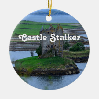 Castle Stalker Round Ceramic Decoration