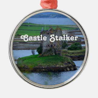Castle Stalker Silver-Colored Round Decoration