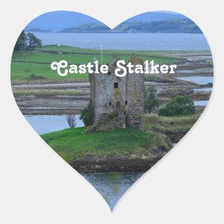 Castle Stalker Heart Stickers