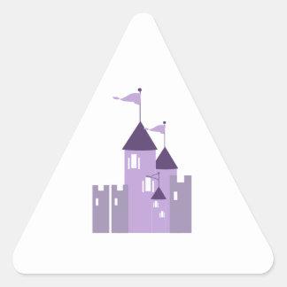 Castle Triangle Stickers