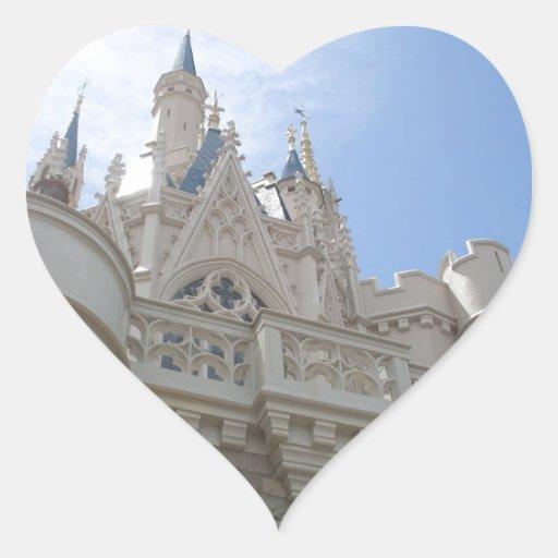 castle heart stickers