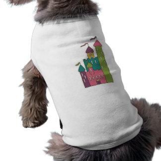 castle-sticker CUTE FAIRYTALE CASTLE CARTOON GRAPH Pet Tee