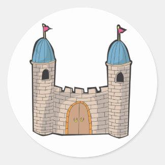 Castle Stickers Round Sticker