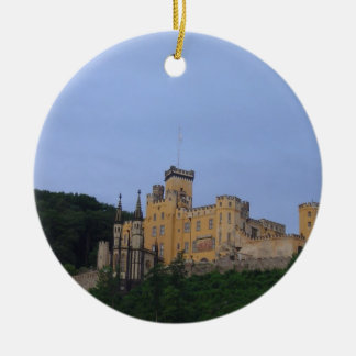 Castle Stolzenfels Christmas Ornament