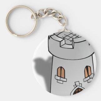Castle Tower Key Chains