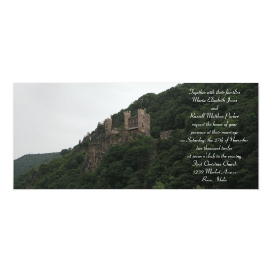 Wedding Invitations Castle Hill: Castle Wedding Invitations
