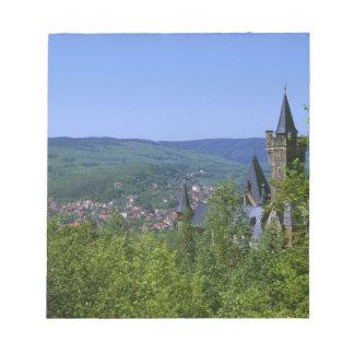 Castle, Wernigerode, Saxony Anhalt, Germany Notepad