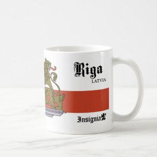 Castle with Lions Gate from Riga Latvia Coffee Mug