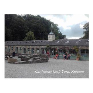 Castlecomer Craft Yard, Kilkenny Postcard