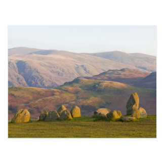 Castlerigg Stone Circle, Lake District, Cumbria, 2 Postcard