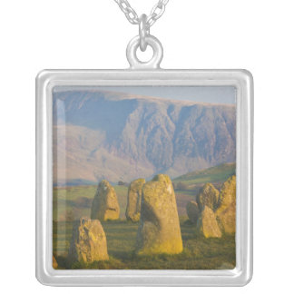Castlerigg Stone Circle, Lake District, Cumbria, Square Pendant Necklace