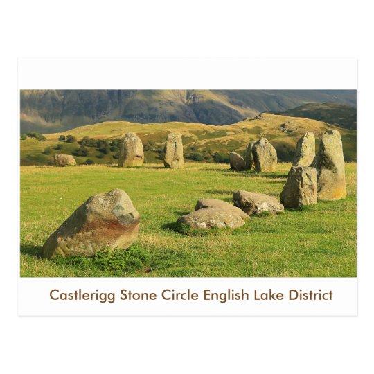Castlerigg Stone Circle Postcard