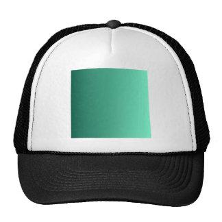 Castleton Green to Aquamarine Vertical Gradient Cap