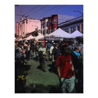 Castro Street Fair 21.5 Cm X 28 Cm Flyer